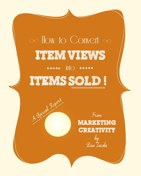 Convert Item Views into Items Sold!