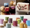 Pretty candles from Red Envelope, featured on Hostess {with the Mostess} blog